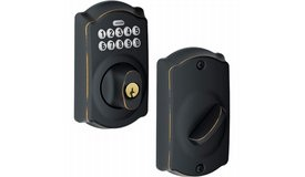 Schlage Electronic Deadbolt